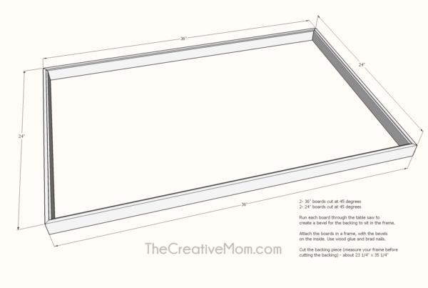 Engineer Print Frame building plans
