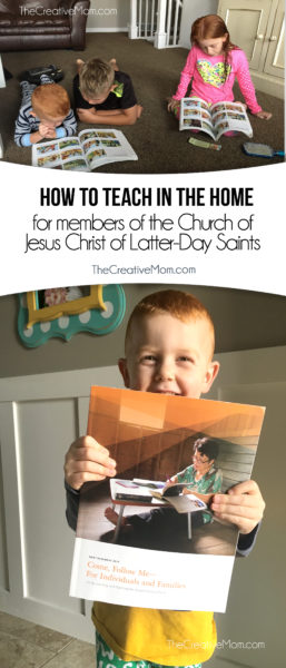 how to teach in the home