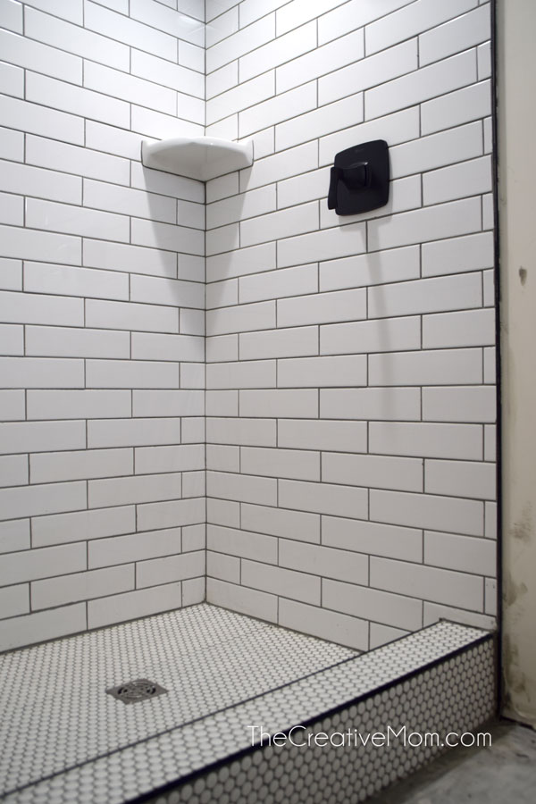 How to tile a basement shower