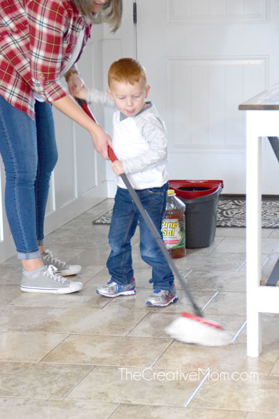 4 Simple Steps for Keeping a Clean House