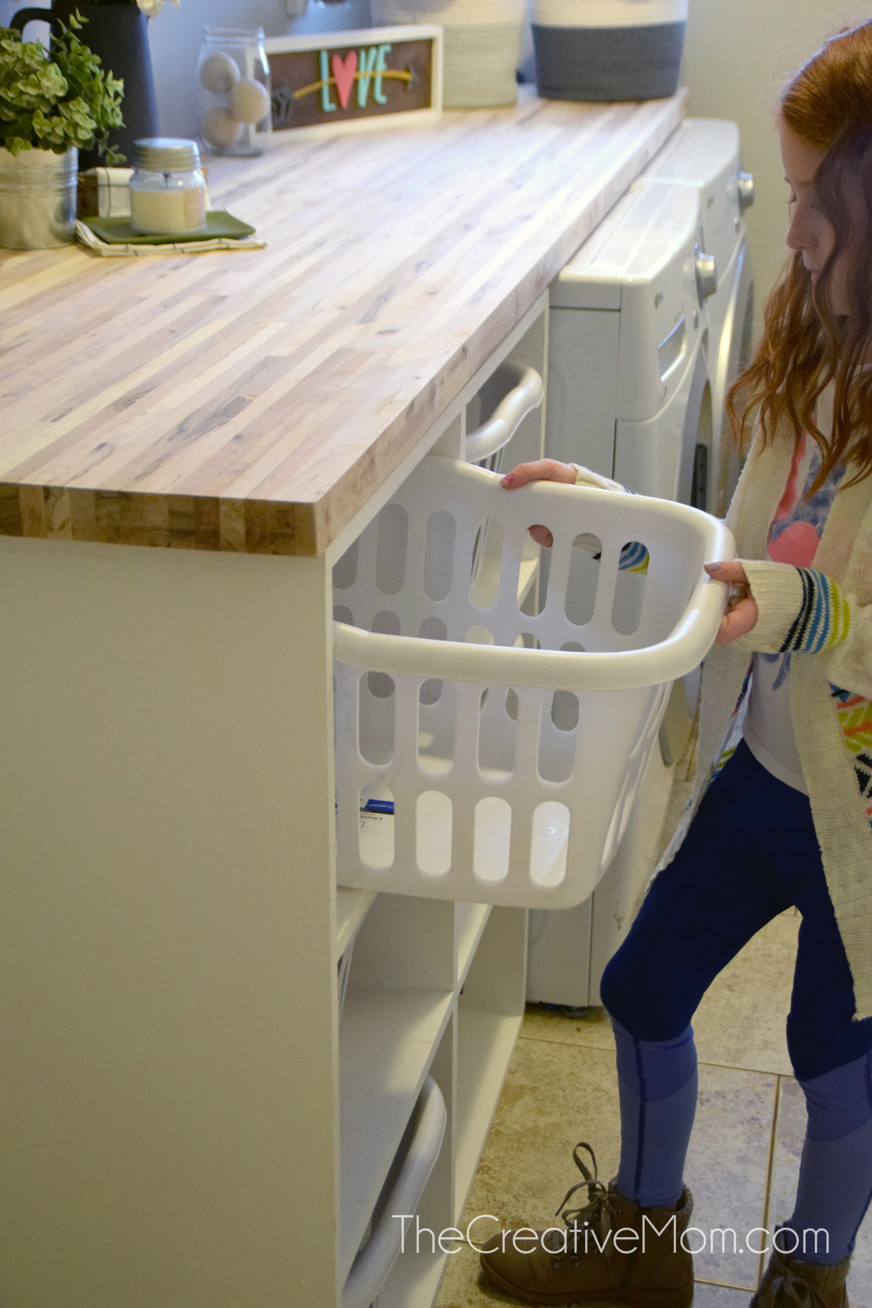 Laundry Sorter Building Plans   The Creative Mom