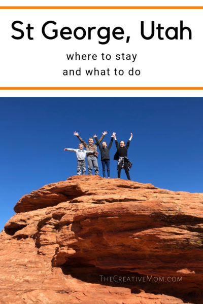 Where to stay and what to do in St George, Utah