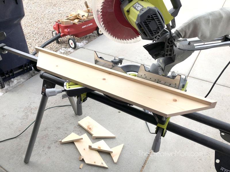 miter saw lumber