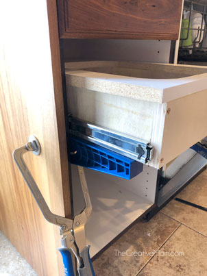drawer slide jig
