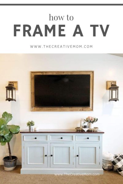how to frame a tv