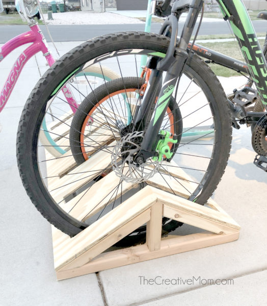 diy bike storage
