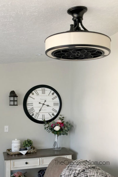 ceiling fan enclosed