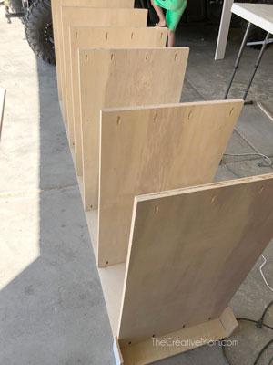 building bookshelf