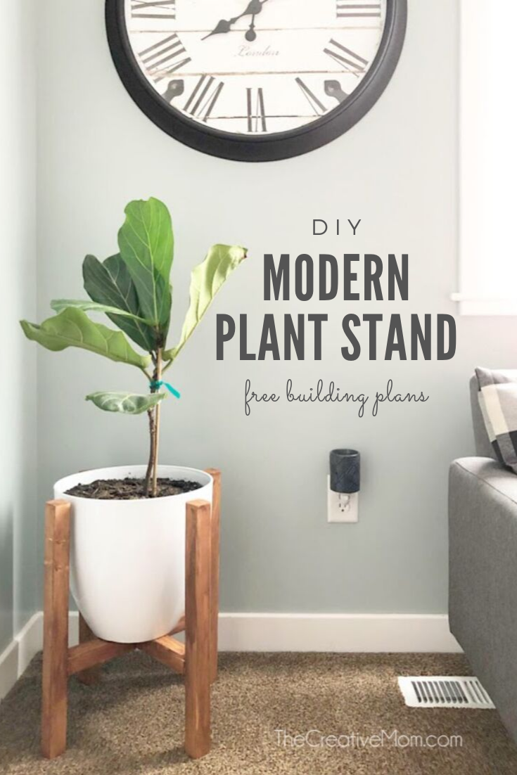 How to Build a Modern Plant Stand