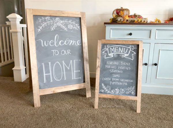 diy chalkboards