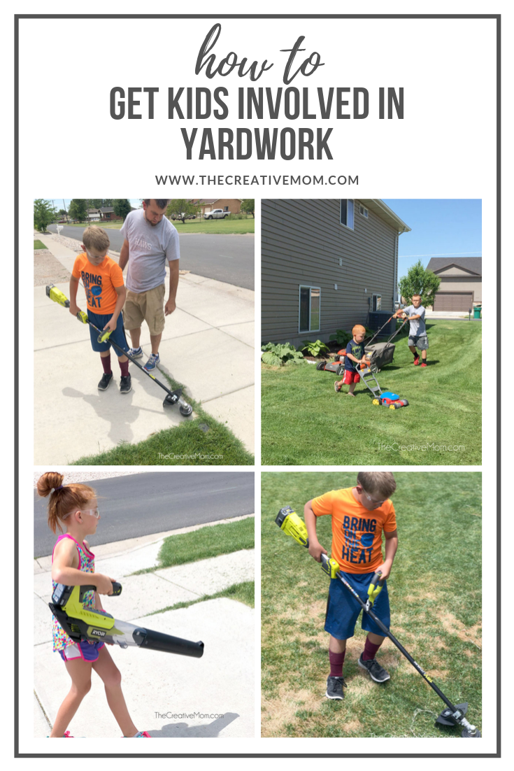 kids yardwork