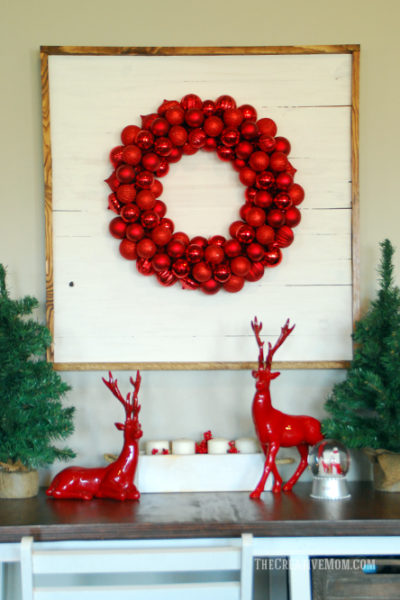 wreath display