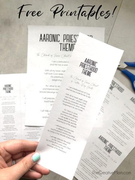 free lds church printables