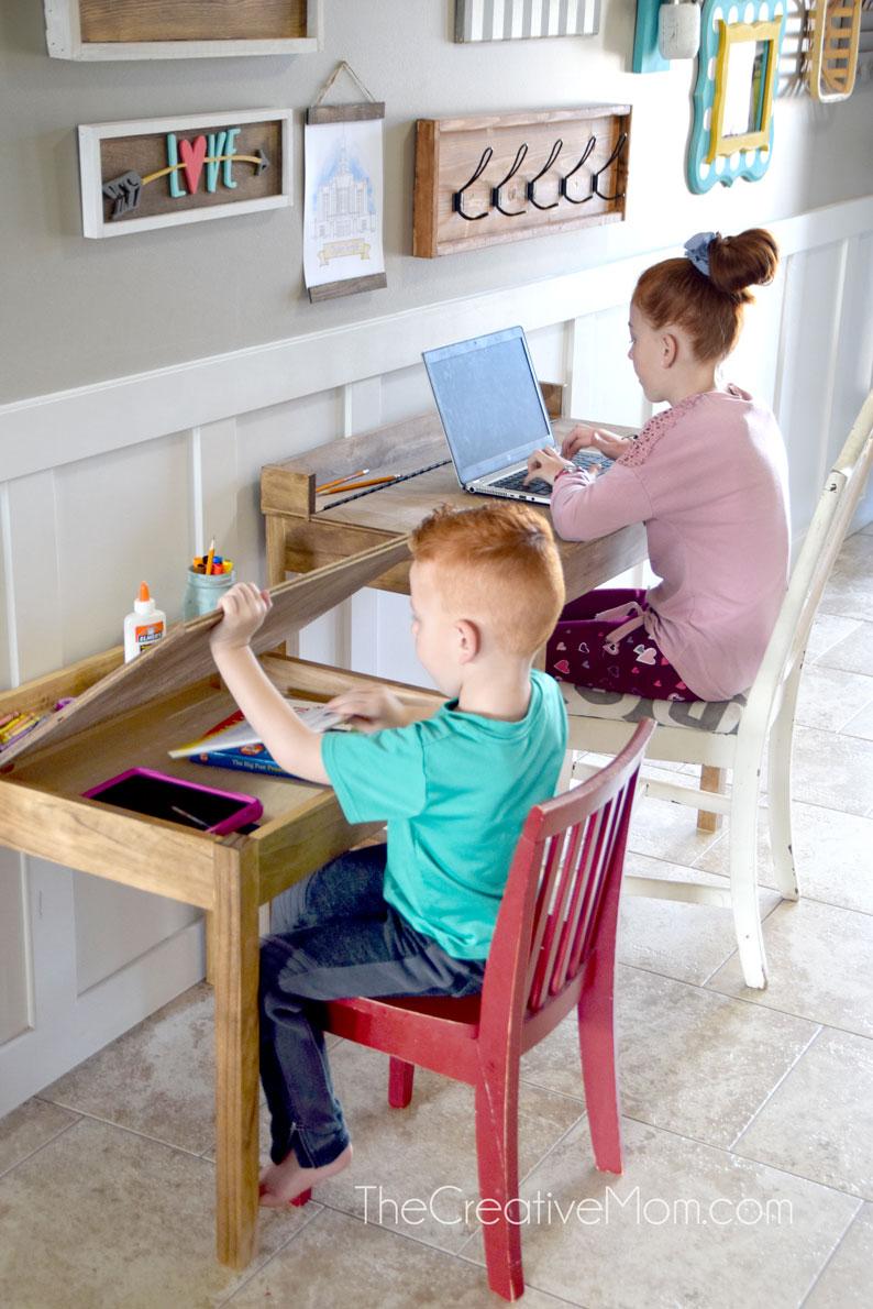 DIY School Desk