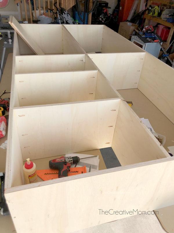 DIY Tool Shelf