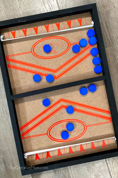 diy finger hockey game