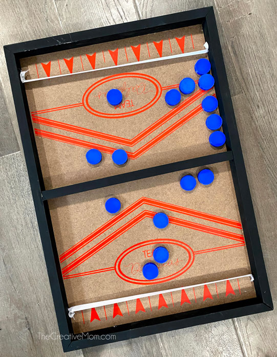 diy finger hockey game