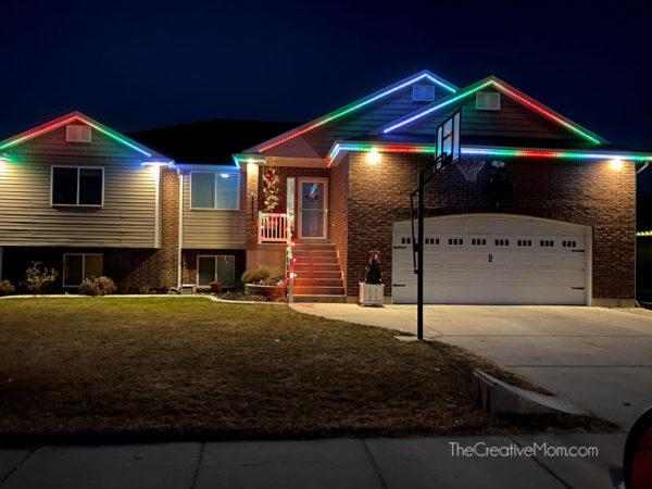 DIY Permanent Christmas LED Lights