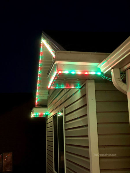 DIY Permanent Christmas LED Lights