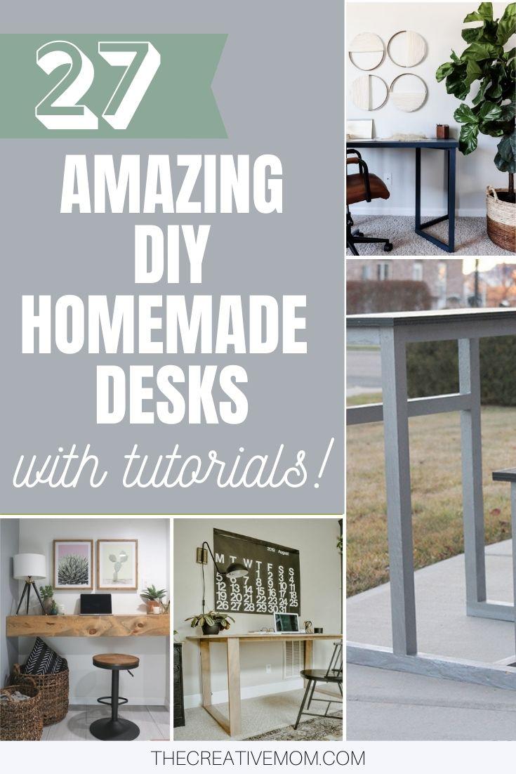 homemade desks diy