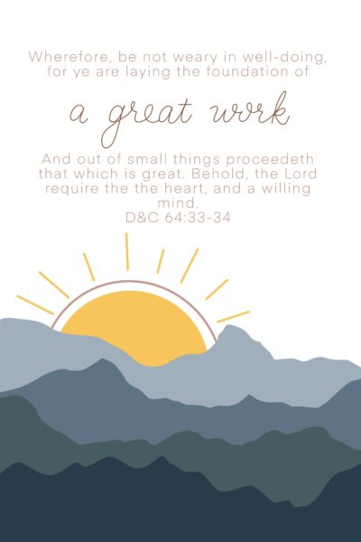 a great work printable