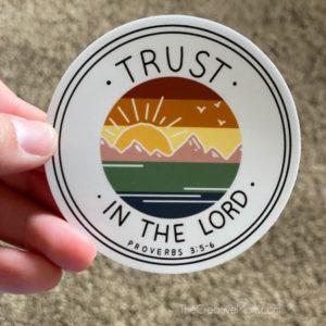 LDS youth theme sticker