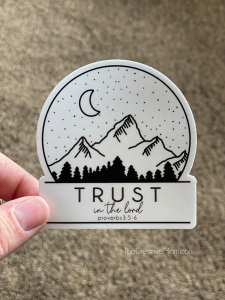 youth theme sticker